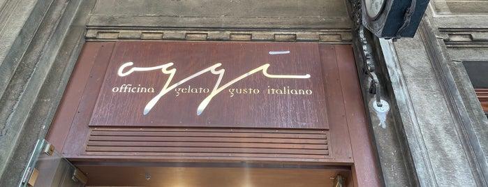 Oggi Officina Gelato Gusto Italiano is one of Bologna.