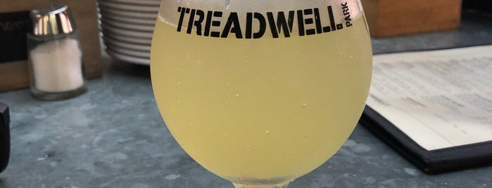 Treadwell Downtown is one of New York Eateries.