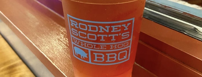 Rodney Scott's BBQ is one of Charleston.