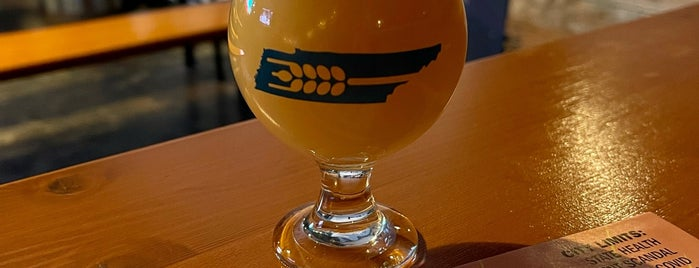 Southern Grist Brewing Company is one of Nashville.