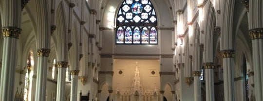 The Cathedral of Saint John The Baptist is one of Charleston.