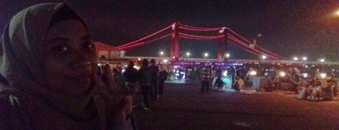 Jembatan Ampera is one of Orte, die Baba gefallen.