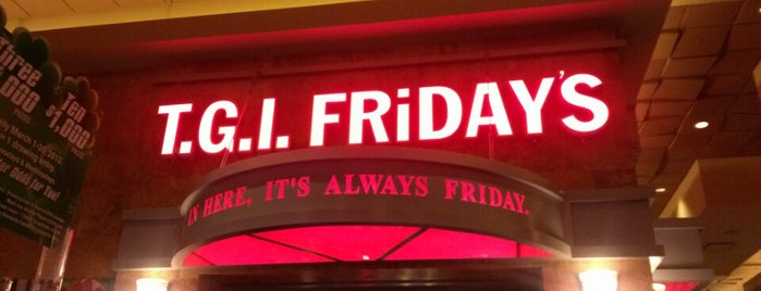 TGI Fridays is one of Antreseさんのお気に入りスポット.