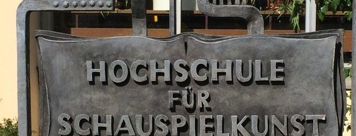 """Hochschule für Schauspielkunst """"Ernst Busch"""" is one of no food, no bars."""