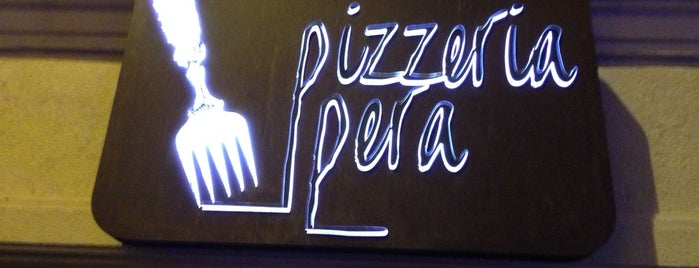 Pizzeria Pera is one of İstanbul.