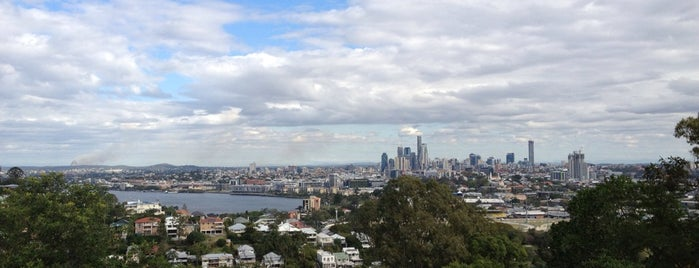 Bartley's Hill Lookout is one of Brisbane.