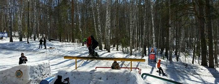 BnoSpot Snowpark is one of Lugares favoritos de Vladimir.