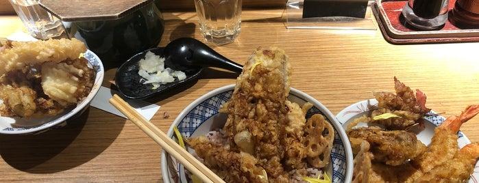 天ぷら 琥珀 Tempura Kohaku is one of Lugares favoritos de Vanessa.