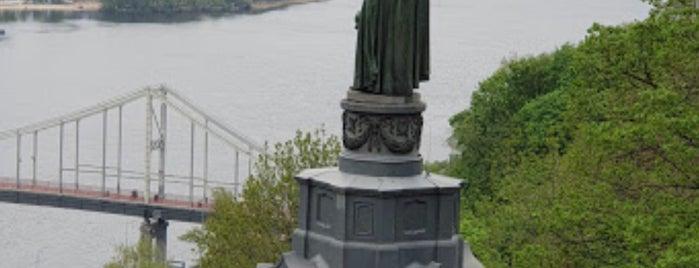 Владимирская горка is one of Olga : понравившиеся места.
