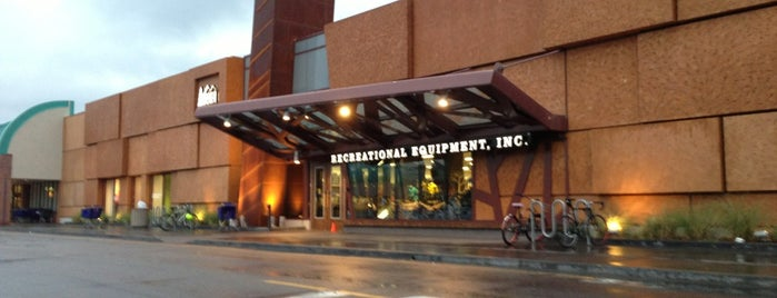 REI is one of Boulder.