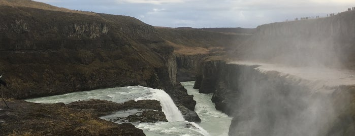 Gullfoss is one of Lieux qui ont plu à Lef.