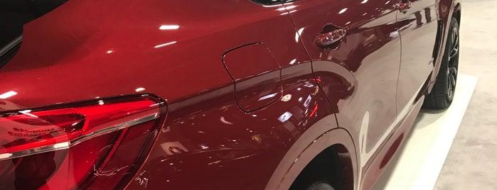 The Washington Auto Show is one of Tempat yang Disukai Montaign.