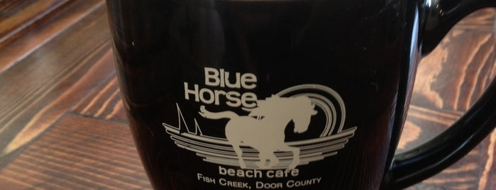 Blue Horse Beach Cafe is one of Where in the World (to Dine, Part 4).