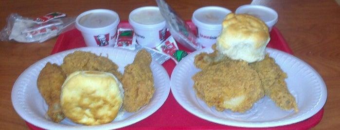 KFC is one of Orte, die Heidy gefallen.