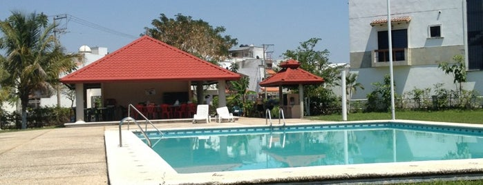 Alberca Real del angel is one of Tempat yang Disukai Joaquin.