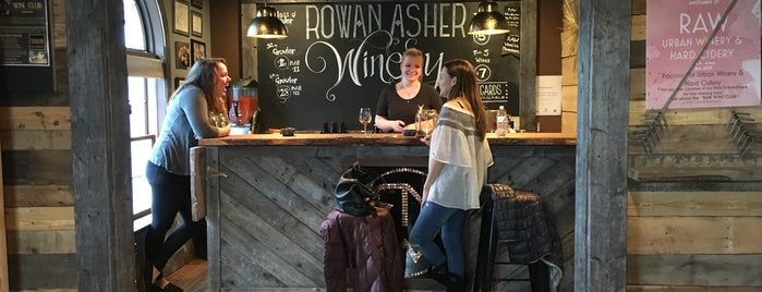 Rowan Asher Winery is one of Lehigh Valley wine trail.