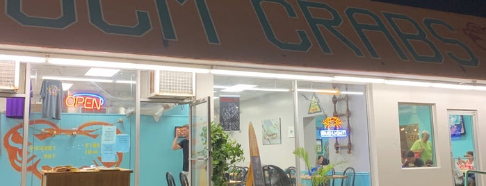 OCM Crabs and Seafood is one of Delmarva - Eastern Shore.