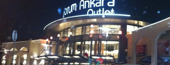 Forum Ankara Outlet is one of Check-in liste - 2.
