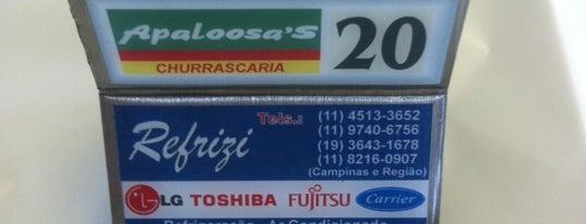 Apaloosa's is one of Bruno'nun Beğendiği Mekanlar.