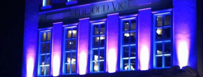 The Old Vic is one of Pleasure Spots in the UK.