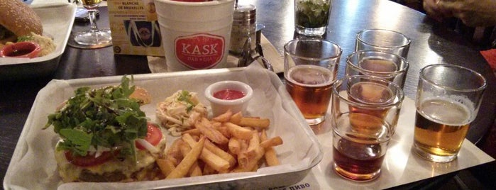 Kask Beer Cafe is one of Бургеры в Москве.