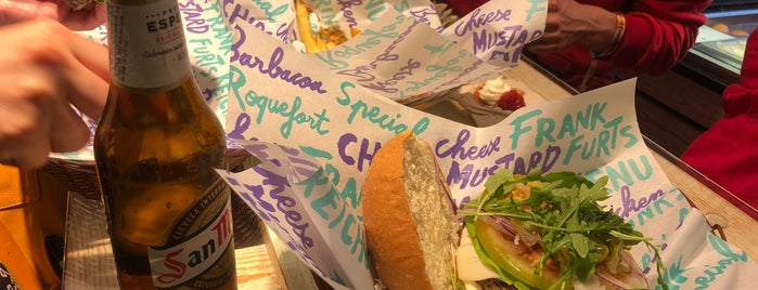 Pim Pam Burger is one of Бургеры в Барселоне.