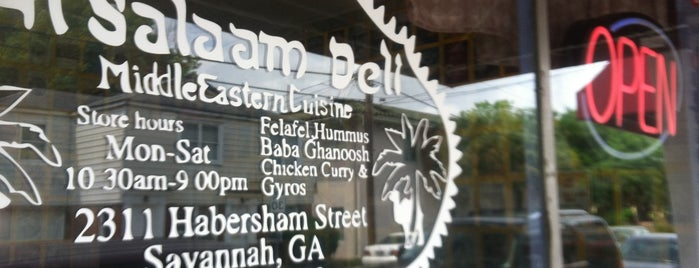 Al Salaam Deli is one of 20 favorite restaurants.