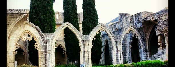 Bellapais Monastery is one of Girne.