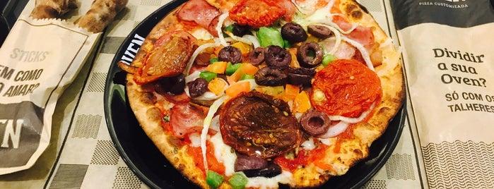 Oven Pizza Customizada is one of Orte, die Davi gefallen.