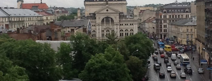 Готель «Львів» is one of Lieux qui ont plu à Alice🍒.