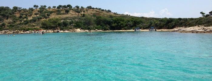 Γαλάζια Νερά is one of Stelios : понравившиеся места.