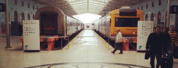 Estação Ferroviária de Santa Apolónia is one of Lisboa sabores de siempre.