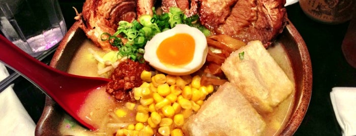 Ramen Misoya is one of New York City to try.