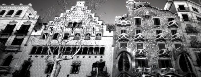 Casa Batlló is one of Lieux qui ont plu à Alan.