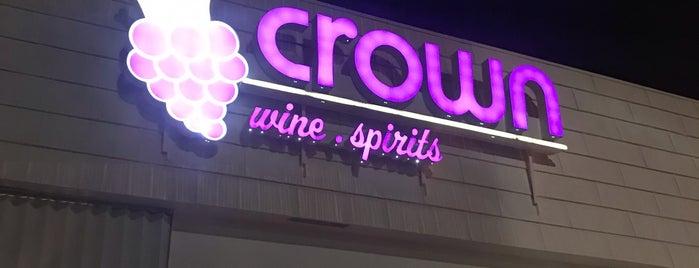 Crown Wine & Spirits is one of Sam 님이 좋아한 장소.