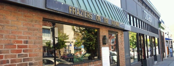 Frazier's on the Avenue is one of Gespeicherte Orte von Donna.