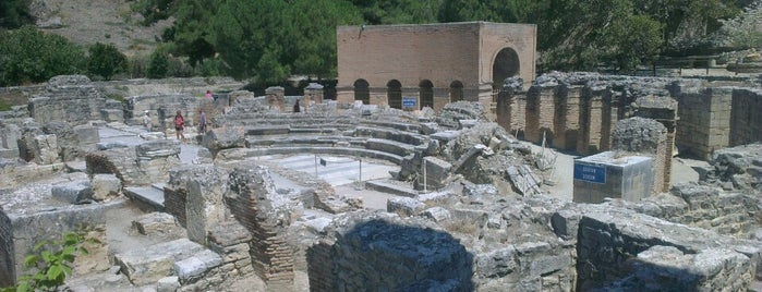 Gortyna Archaeological Site is one of Crete.