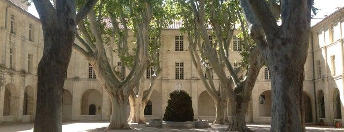 Hôtel Cloître Saint-Louis is one of Avignon adresses.