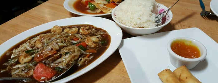 Taste of Thai is one of Places to try.