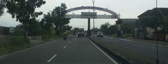 Jalur Pantura Bojonegoro-Surabaya is one of Best places in Lamongan, Indonesia.