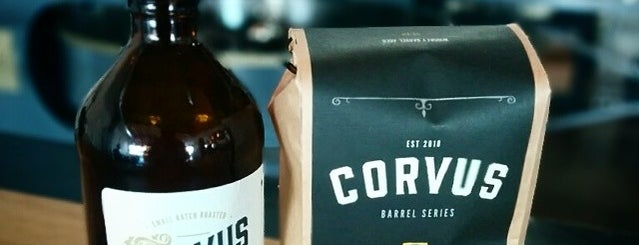 Corvus Coffee Roasters is one of Tempat yang Disukai Marie.