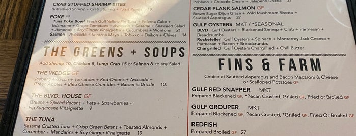 BLVD Seafood is one of Houston.