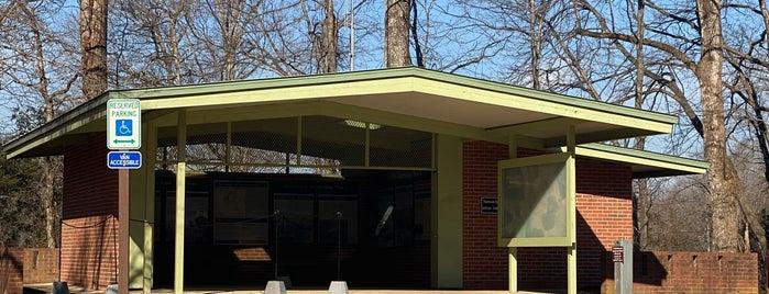 Spotsylvania Battlefield Exhbit Shelter is one of Joshua Lawrence Chamberlain.