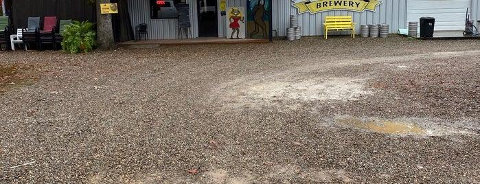 Beavers Bend Brewery is one of Posti che sono piaciuti a Travis.