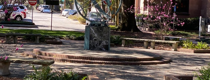 Troup Square is one of Outdoors in Savannah.