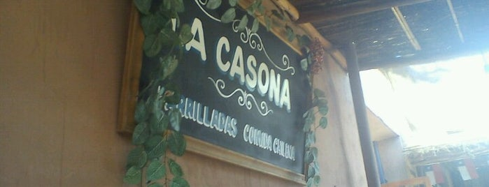 La Casona is one of corregir.