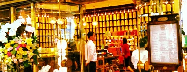 TWG Tea Salon & Boutique is one of CAFE.