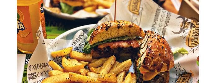 Kasap Burger is one of Posti che sono piaciuti a Baturalp.