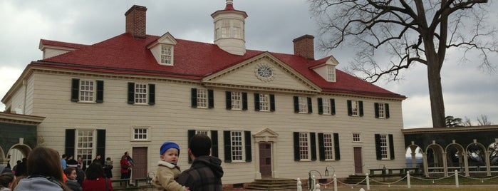 George Washington's Mount Vernon is one of DC Bucket List.