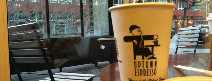 Uptown Espresso is one of Lugares favoritos de J..
